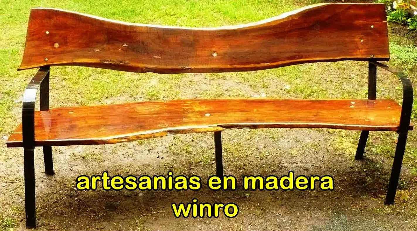 Winro artesanias en madera for Artesanias en madera
