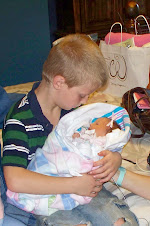 Rachel with big brother Matthew