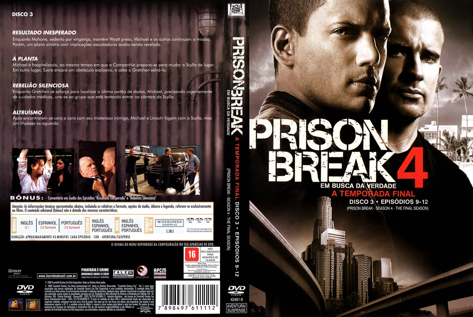 prison break tercera temporada