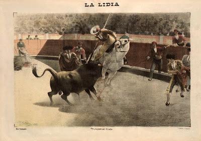 Gravure de Perea La Lidia 1900