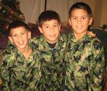 Michael, Isaiah, Andrew