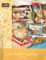 Stampin Up! Idea book and Catalog