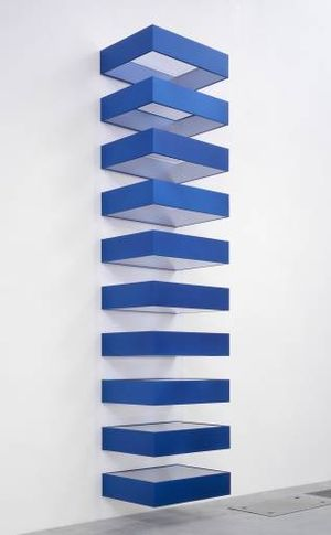 Mmm minimalismo donald judd el minimalismo del objeto for Minimalismo