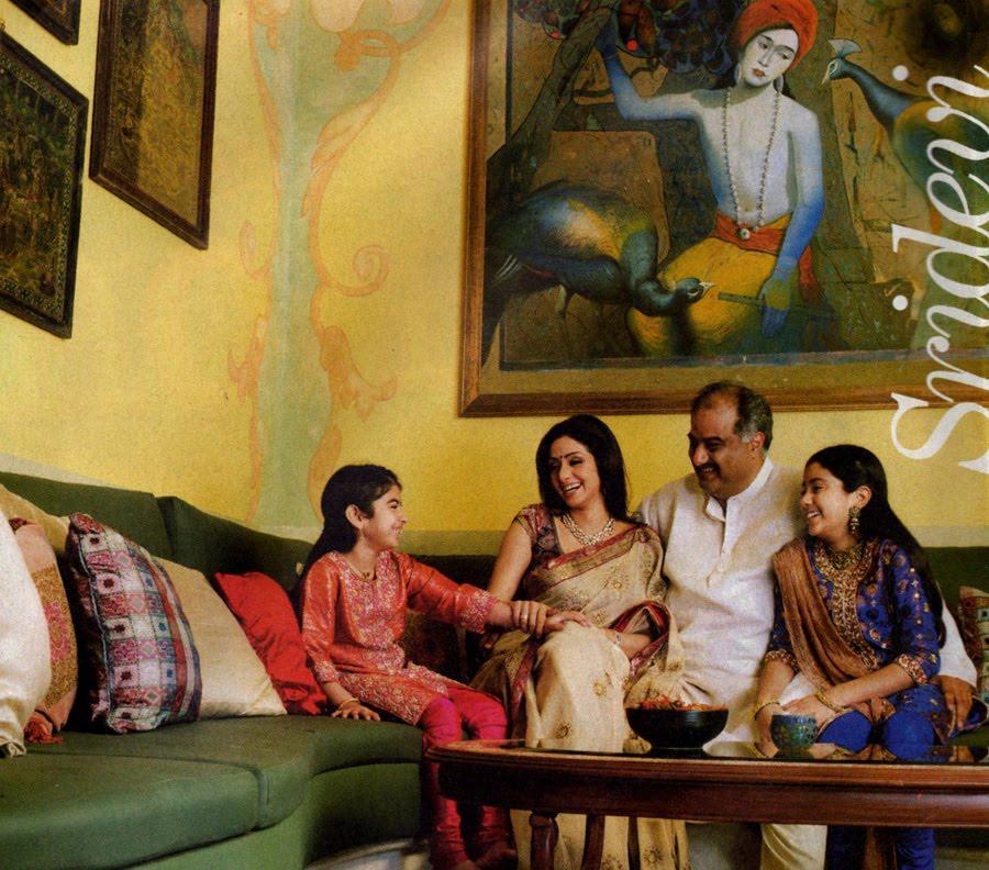 Sridevi Kapoor Family