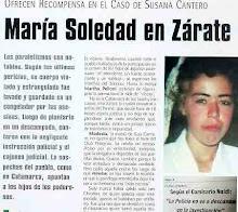 ¡¡¡NO SE OLVIDEN DE SUSANA CANTEROS!!!