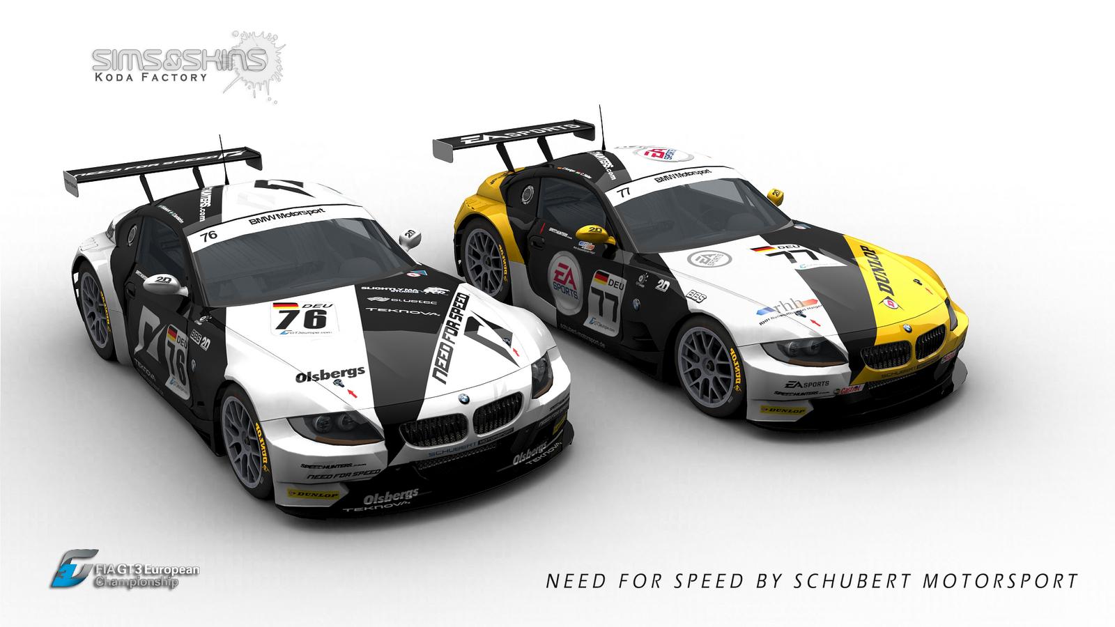 Koda Factory Schubert Motorsport Bmw Z4 Rfactor