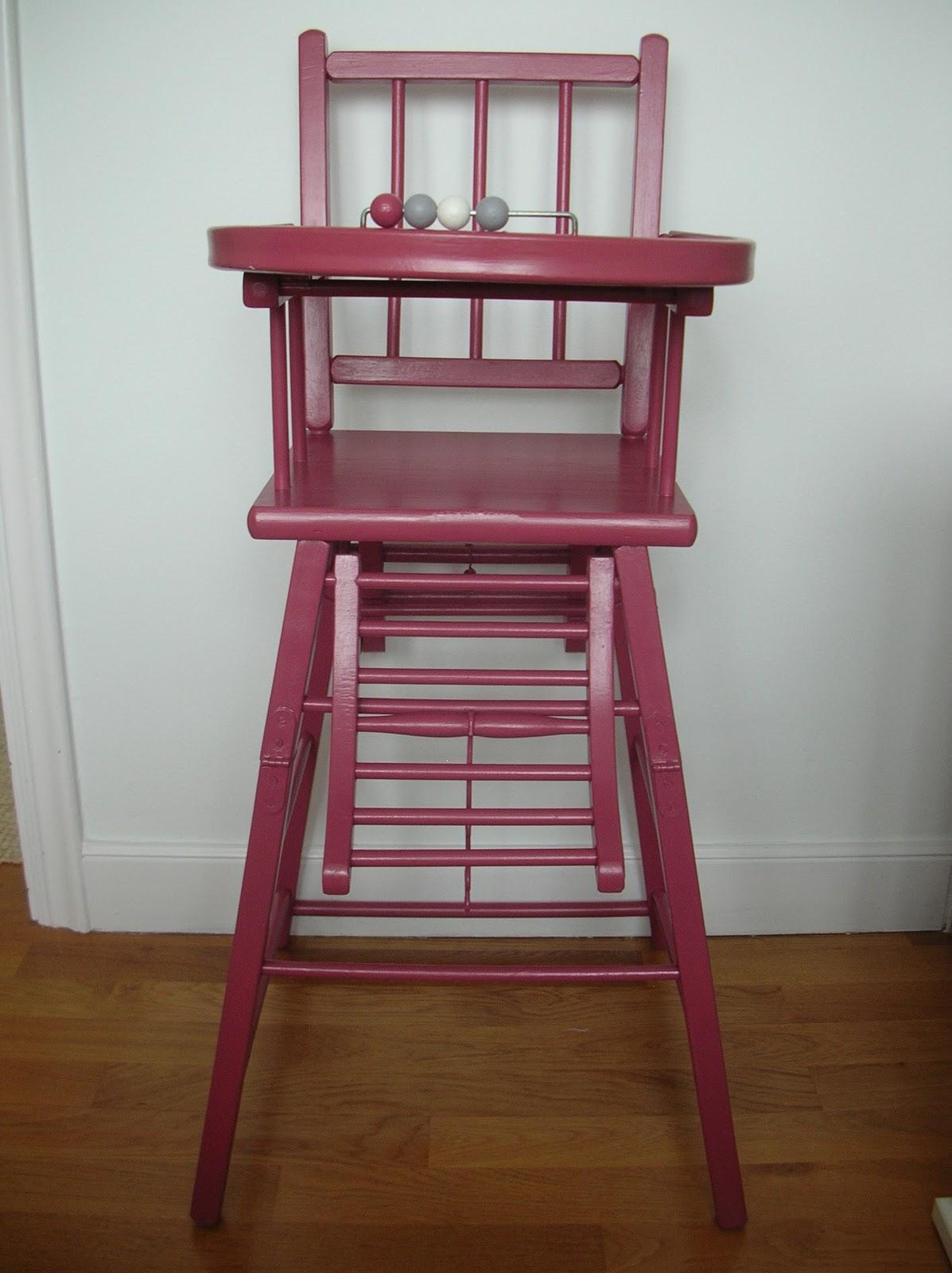 El taller de chlo trona personalizada - Trona de mesa ...