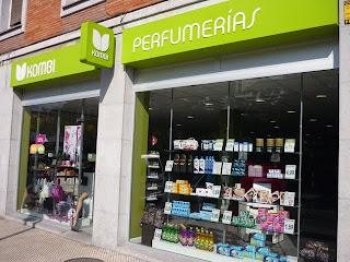 Perfumería Kombi. Tenderina, Oviedo. Punto de venta Eva Rogado