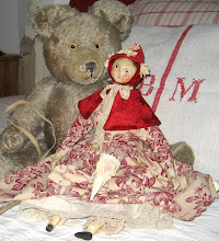 Nicol Sayre doll with Evi&#39;s teddy