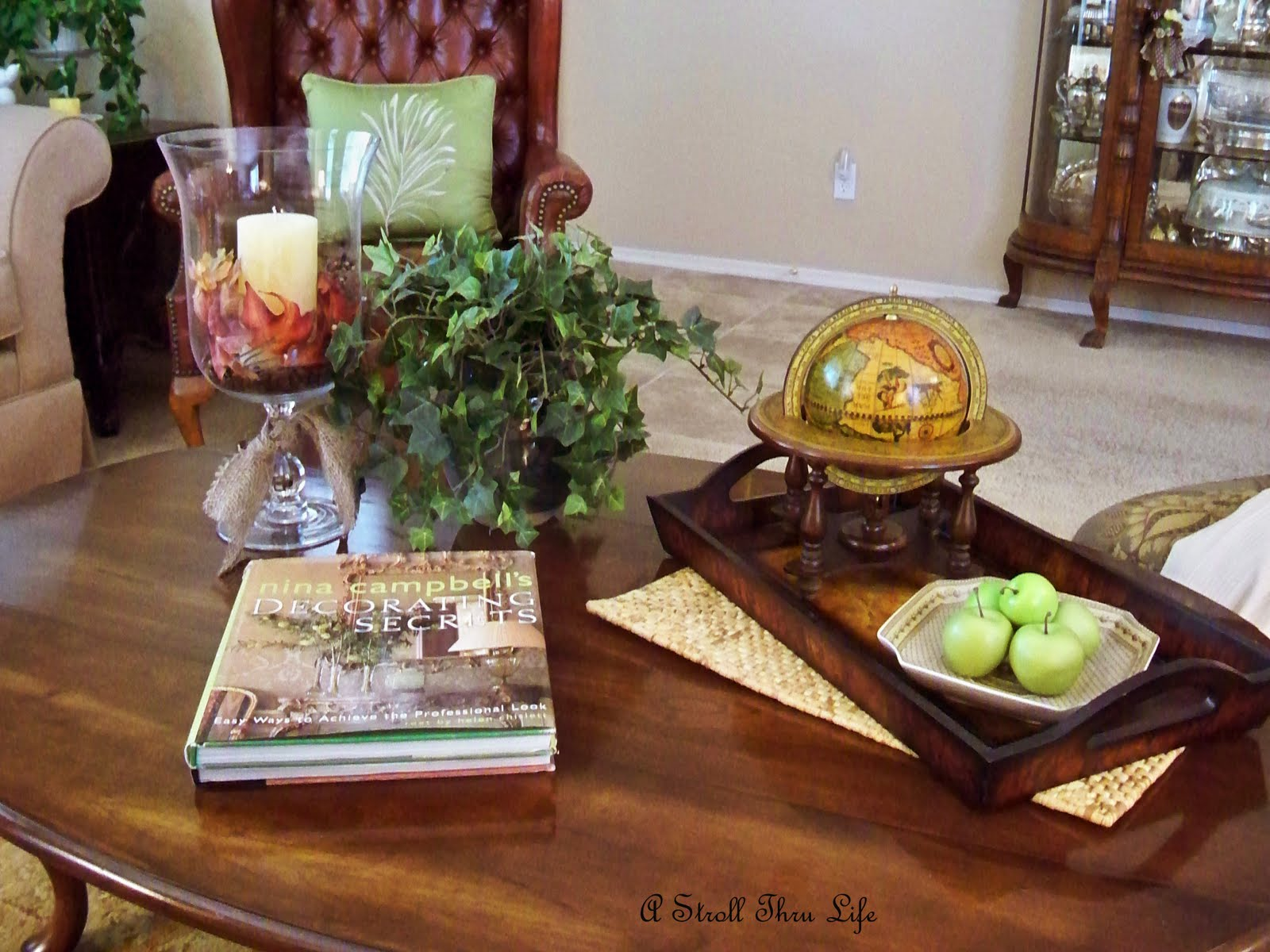A Stroll Thru Life Cloches and Fall Decorating