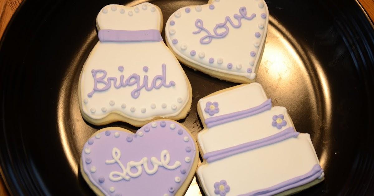 Cake Decorating Class Cincinnati : Summer Sweet Shoppe: Wedding Shower Cookies