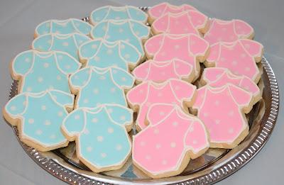 Cake Decorating Class Cincinnati : Summer Sweet Shoppe: Gender Reveal Onsies