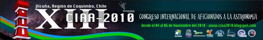 XIII Congreso Internacional de Aficionados a la Astronomía