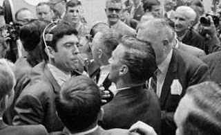 In 1968 Dan Rather Was Essentially Assaulted On The Floor Of Democratic Convention