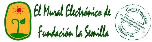 Mural electrónico de Fundación La Semilla