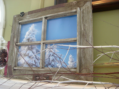 Hope studios a room with a view recycle an old window for Where to recycle old windows