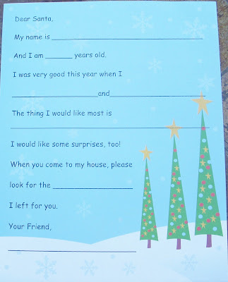 a letter to santa nz