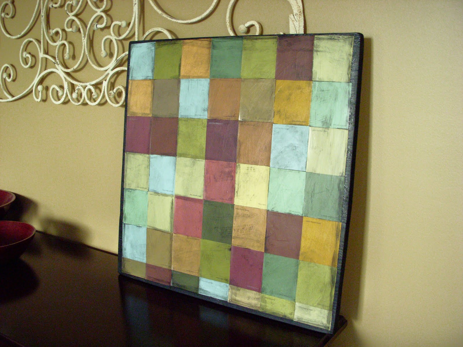 Hope Studios: Paint Chip Mosaic - Tutorial Tuesday