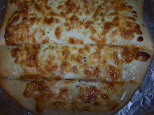 Homemade garlic breadsticks; recipe here