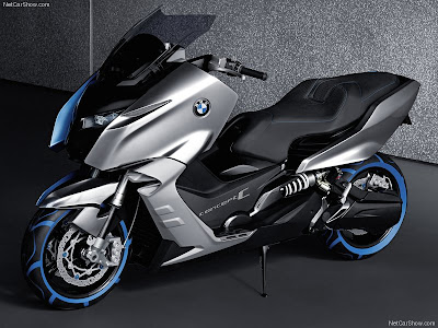 scooter wallpaper. 2010 Bmw Scooter C Concept.