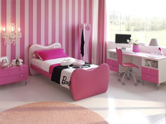 Architecture homes pink girls bedrooms ideas pink girls bedrooms pictures pink girls bedrooms - Modern girls bedroom design ...
