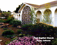 First Baptist in beautiful Pinole