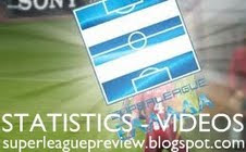 Όλα τα βίντεο με τα στιγμιότυπα των αγώνων και στατιστικά της Superleague