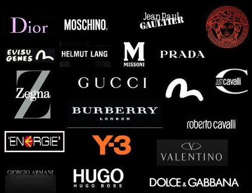 Designer Clothing Label Names Clothing and accessories