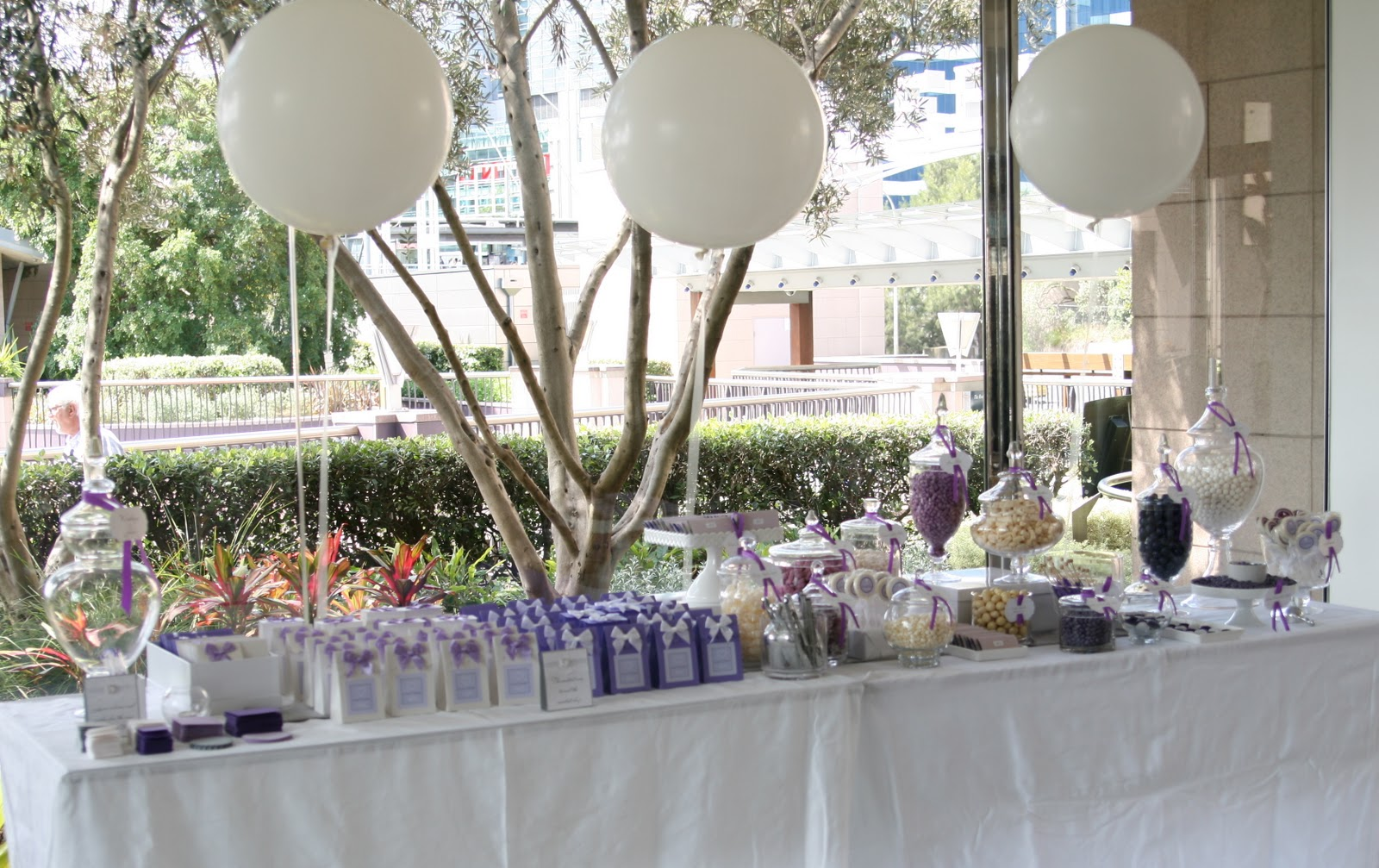 Party Butterfly: A Lavish Lavender Bridal Shower