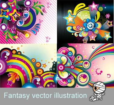 Fantasy vector illustration