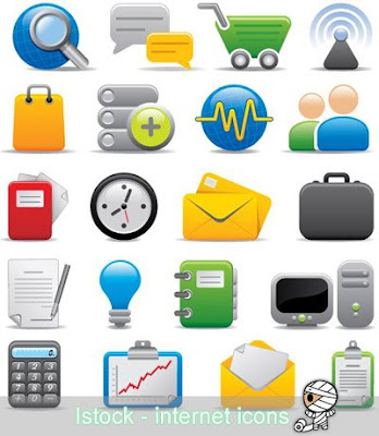Istock  Internet and Office Icons
