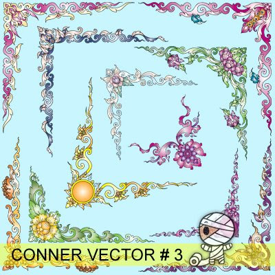 Conner Vector Set 3