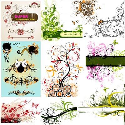 Foral Flower Vectors