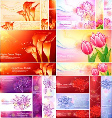 Digital Dream Utopia 4 flowers