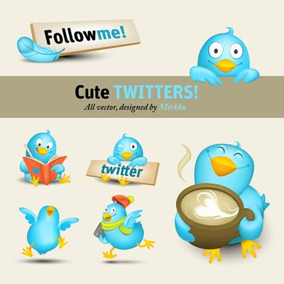 Download Twitter Vector Icon