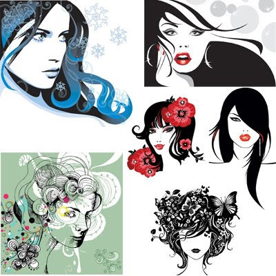 Download Creative Feminity Vector