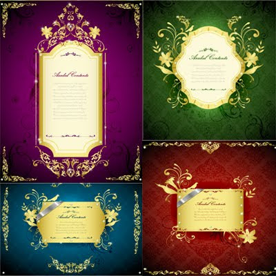 Download Golden Frames Vector