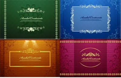 Download Golden Frames background