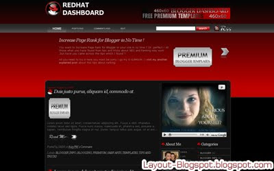 Download Redhat Dashboard Template