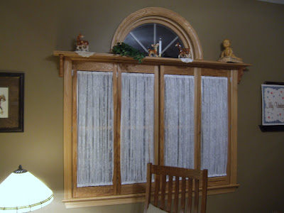 Interior Window Shutters With Fabric Inserts : My Vintage Blankie: Shutters With Fabric Inserts