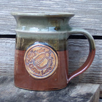 Webb Pottery Stoneware Mug for The Coffee Loft, Anne Webb 2006