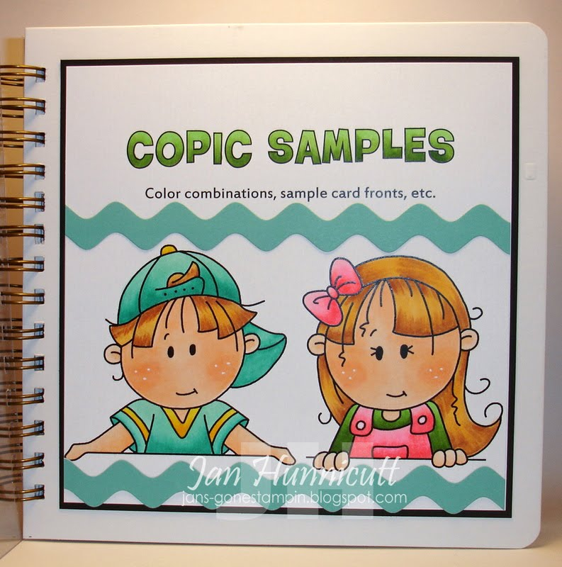 Simply Handcrafted: Excerpts From My Copic Coloring Book