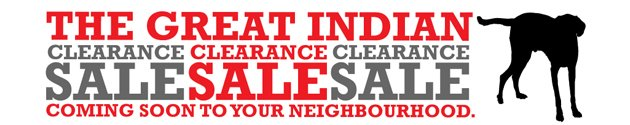 The Great Indian Clearance Sale