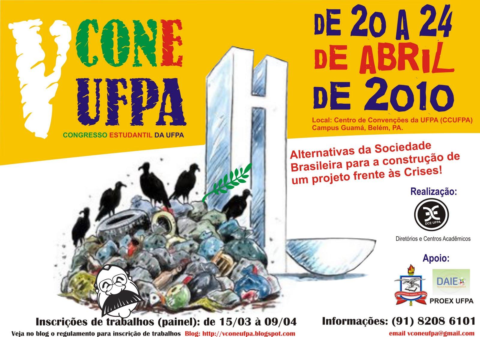 V Congresso Estudantil da UFPA (CONEUFPA)