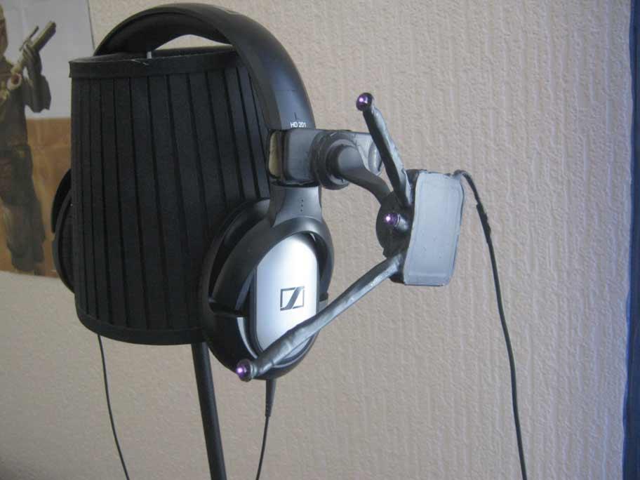 Clip infravermelho para headset compatível com FreeTrack
