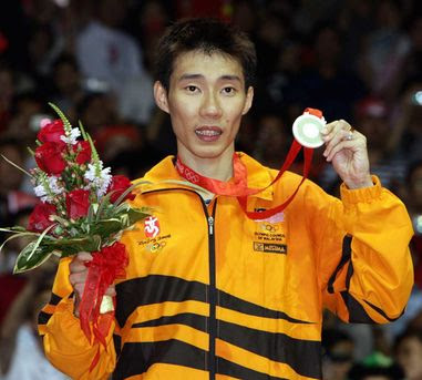 The country proud: First Men Single Silver Medalist --> DATUK LEE ...