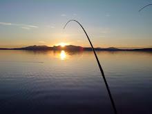 Solnedgång Kallsjön
