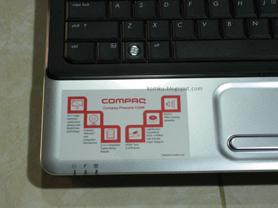 compaq-CQ40-specification-label
