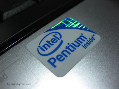 intel inside sticker