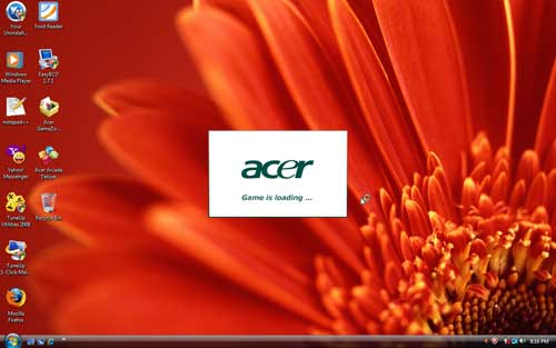 Acer GameZone in Vista